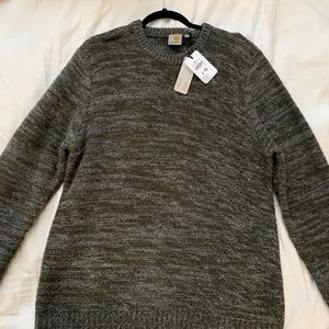 Carhartt WIP brand new XL sweater black grey mix